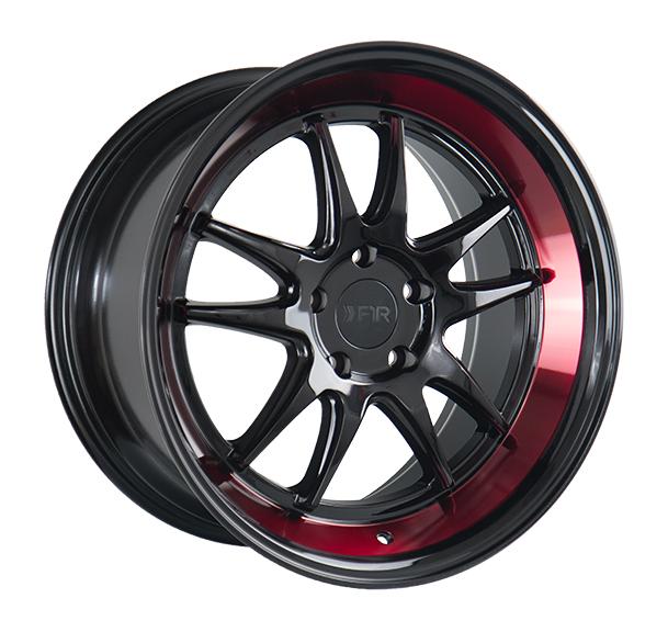 F1R F102 Black Red Lip