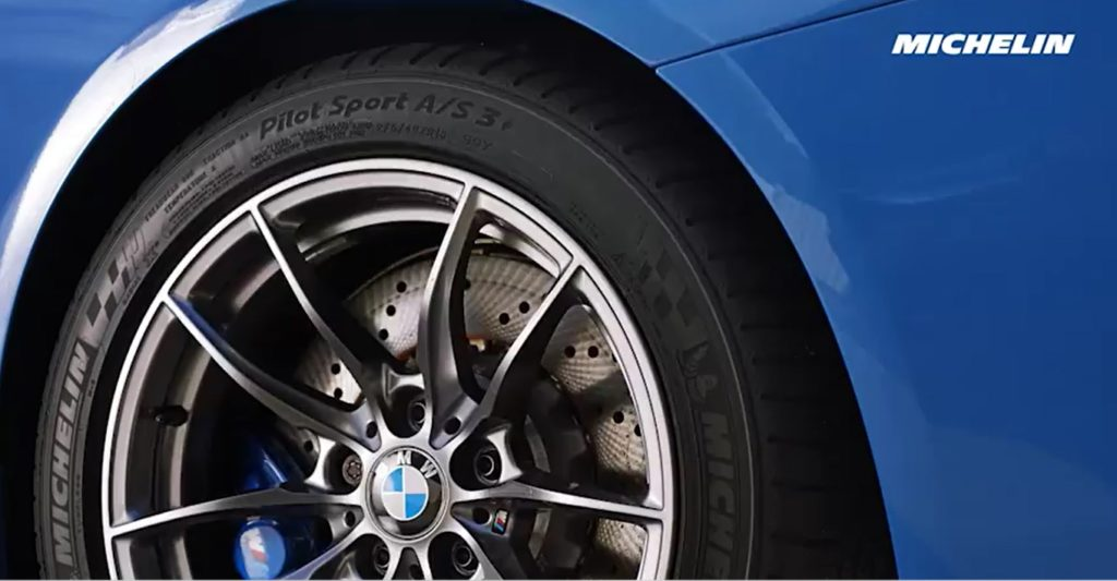 Michelin - Pilot Sport A/S 3+ - Fitted on BMW