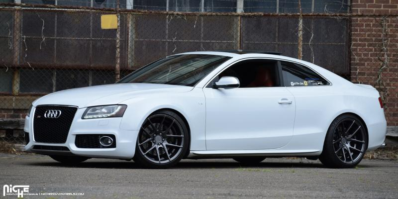 Audi S5 Targa Anthracite Wheels